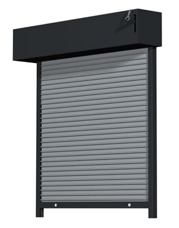 Aluminium rolling shutter